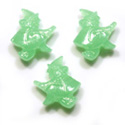 green witch halloween beads